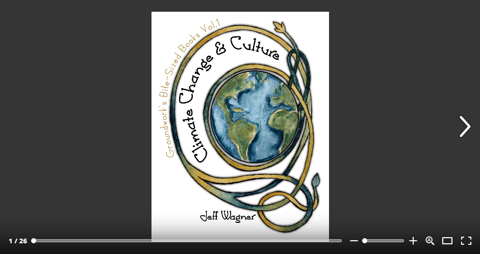 Climate change and culture book